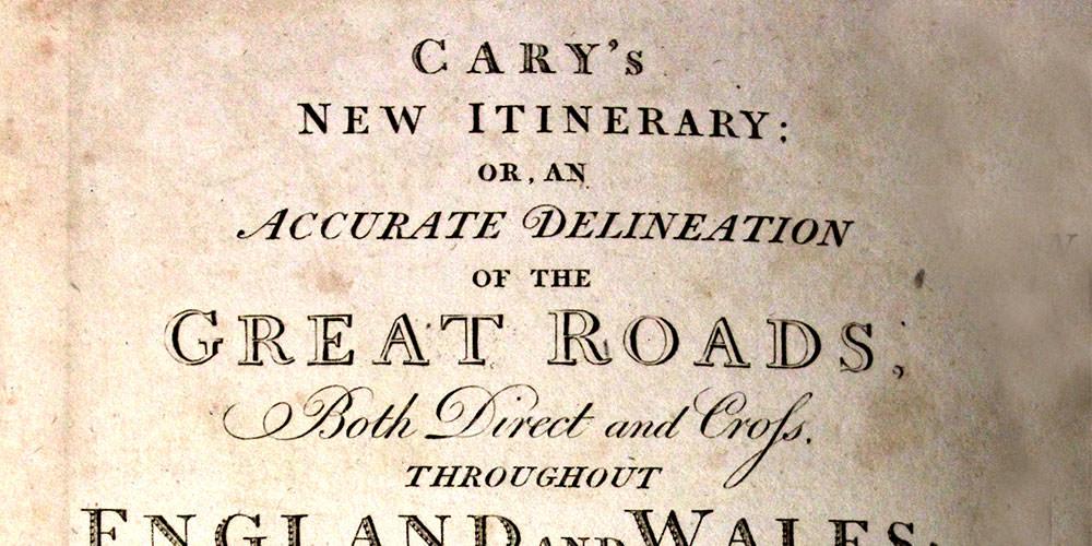 Cary v Newbery, Faden, Longman and Rees (1799 – 1800)